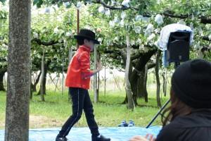 梨狩り&マイケル・ジャクソン