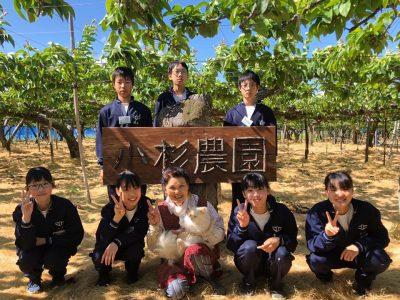 燕北中学生が職場体験に来てくれました♪